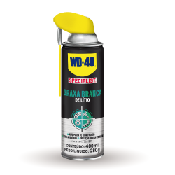 WD-40® Specialist® Graxa Branca de Lítio RGB