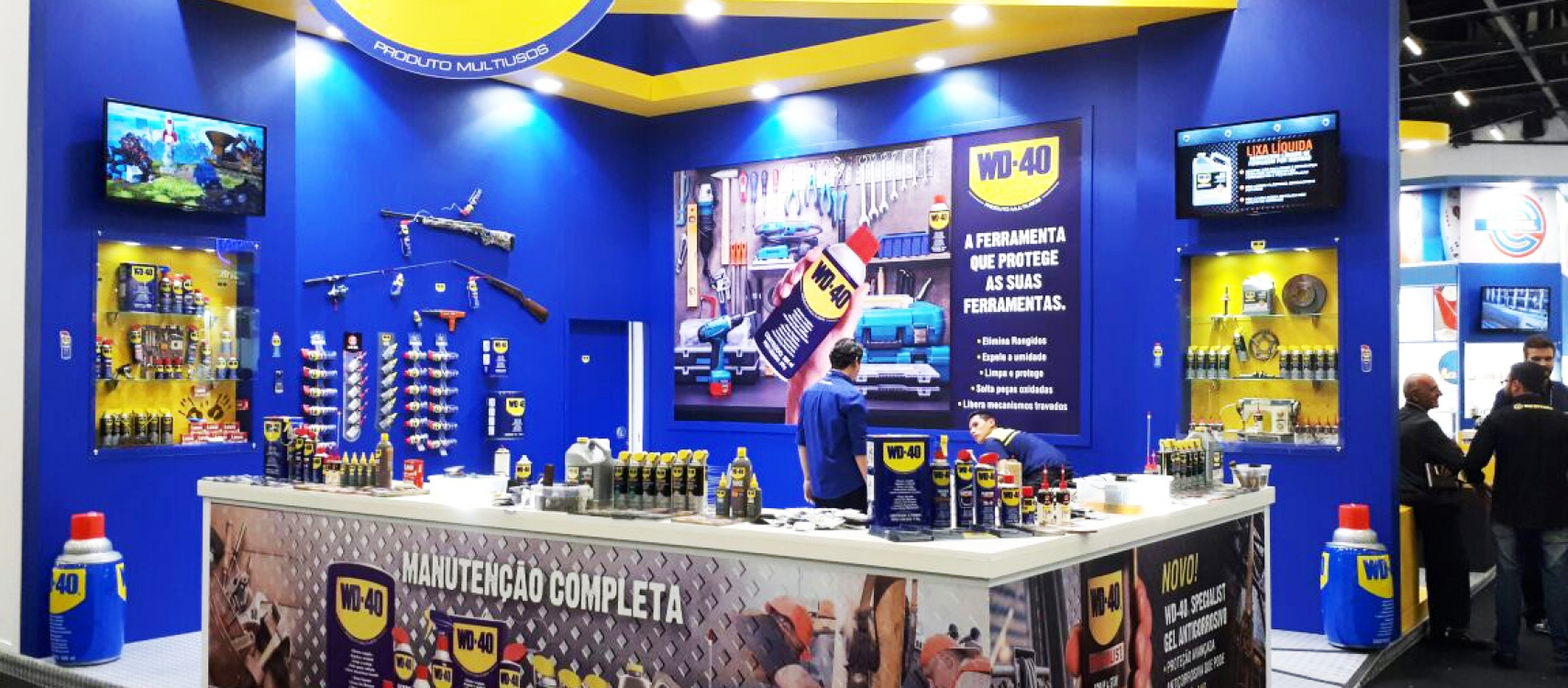 WD-40 É SUCESSO TOTAL NA FEICON 2017!