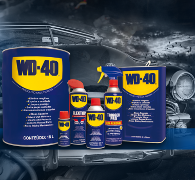 WD-40 É TOP OF MIND NACIONAL!