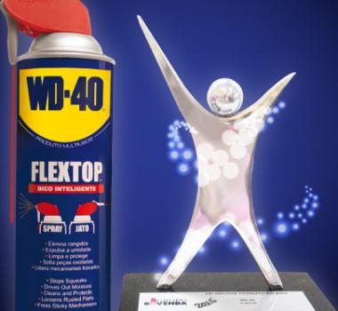 WD-40® Produto Multiusos é número 1!